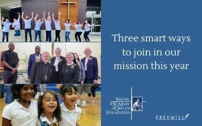 Three smart ways to join in our mission this year